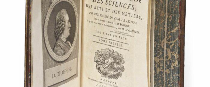 Diderot «De l'interpretatión de la nature»